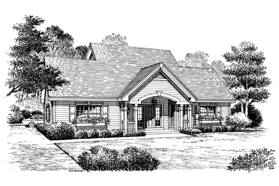 138-1175: Home Plan Rendering