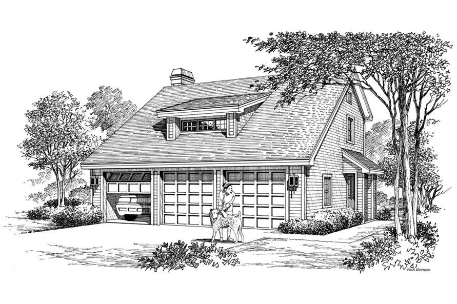 138-1176: Home Plan Rendering