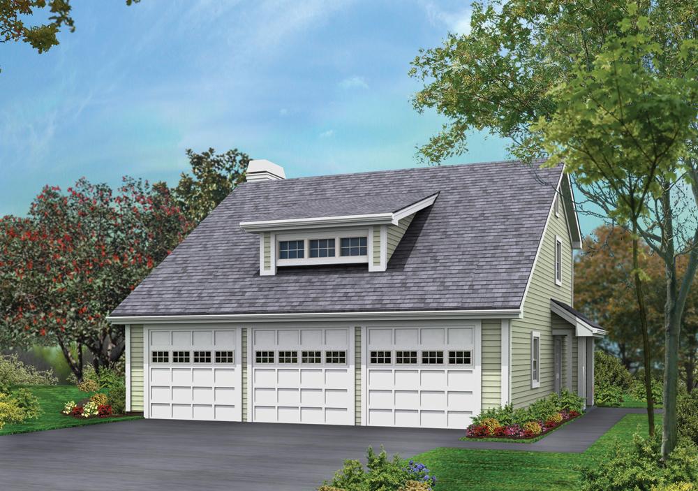 Garage W Apartments House Plan 138 1176 2 Bedrm 1005 Sq