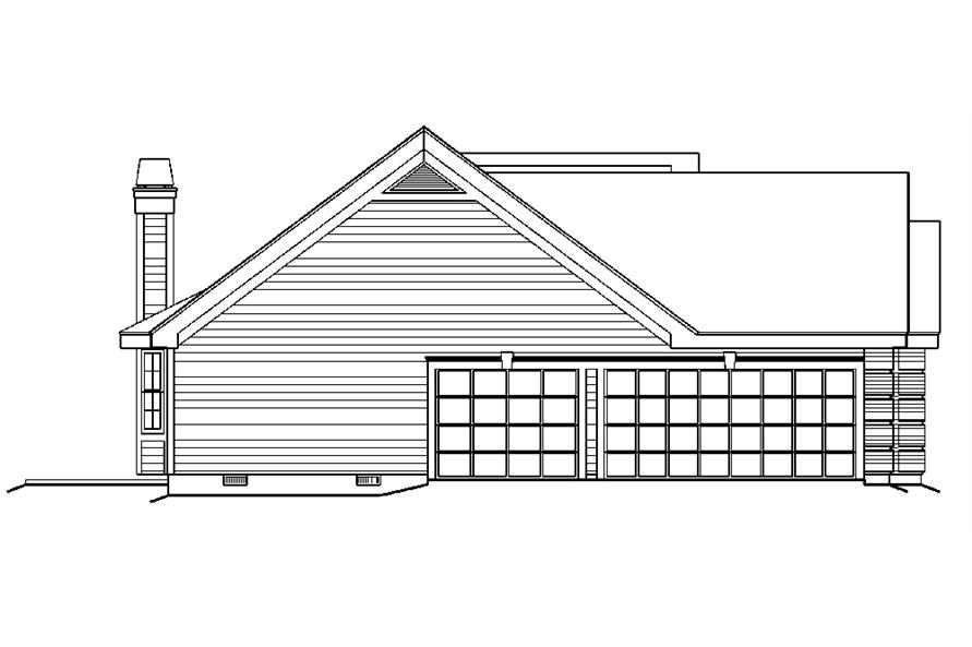 138-1177: Home Plan Left Elevation