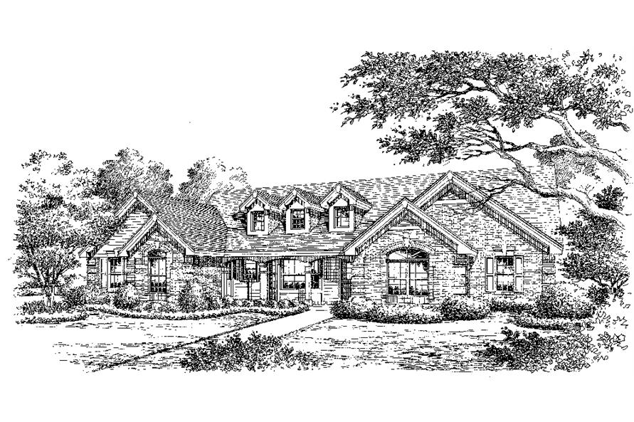 138-1177: Home Plan Rendering