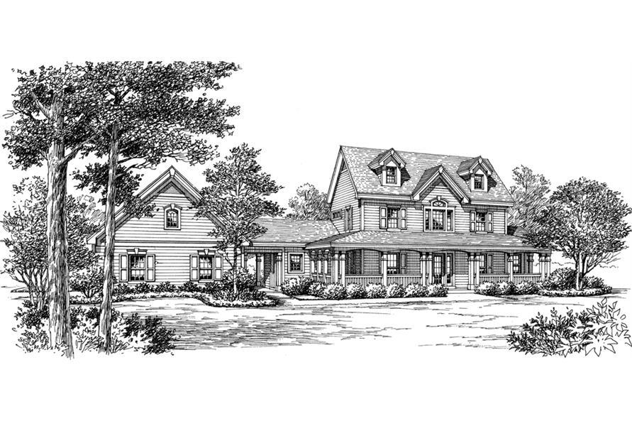 138-1178: Home Plan Rendering