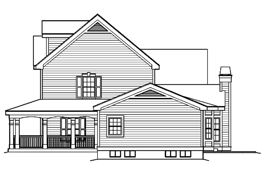 138-1178: Home Plan Right Elevation