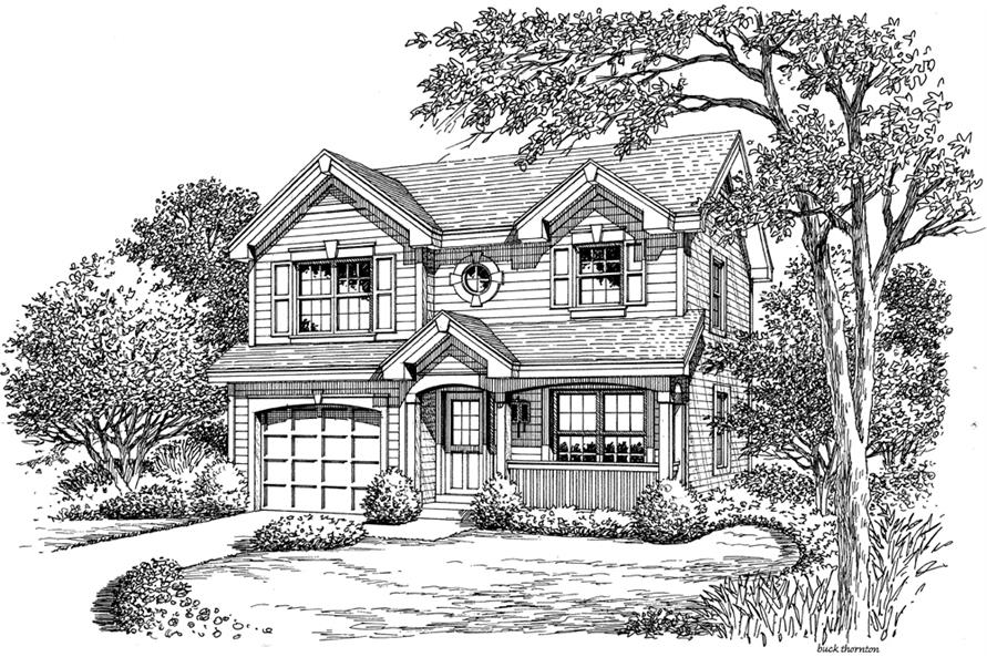 138-1179: Home Plan Rendering