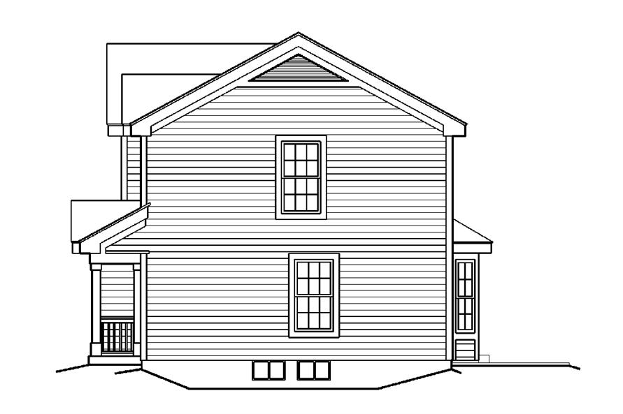 138-1179: Home Plan Right Elevation