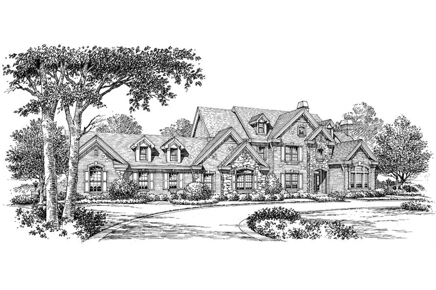 138-1180: Home Plan Rendering