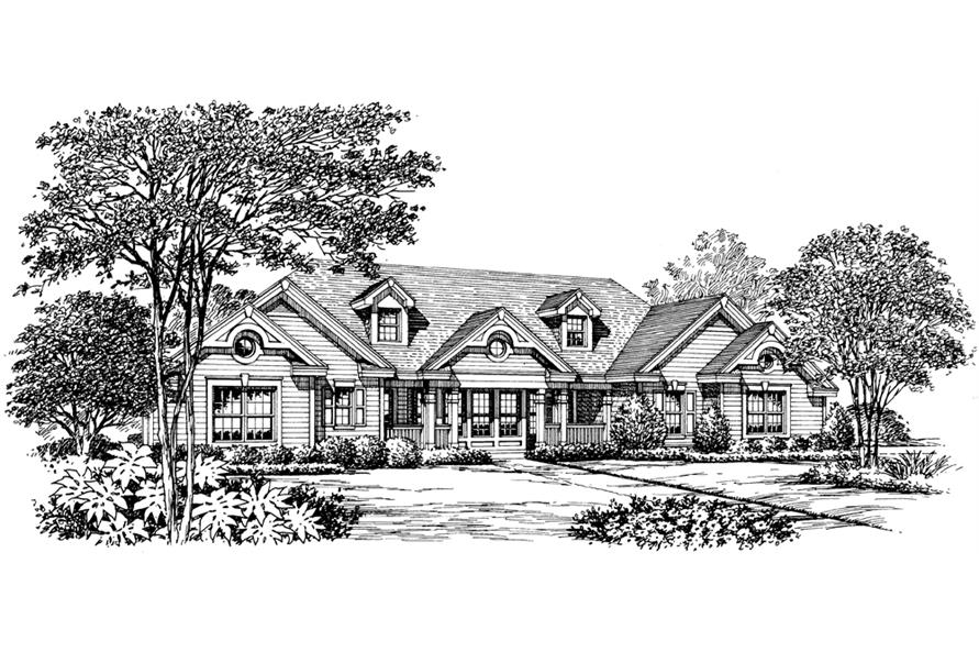 138-1181: Home Plan Rendering