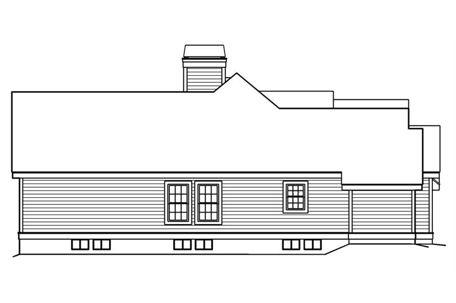 138-1181: Home Plan Left Elevation
