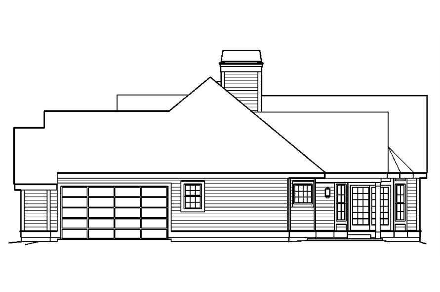 138-1181: Home Plan Right Elevation