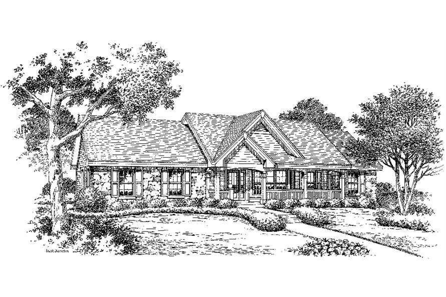 138-1182: Home Plan Rendering
