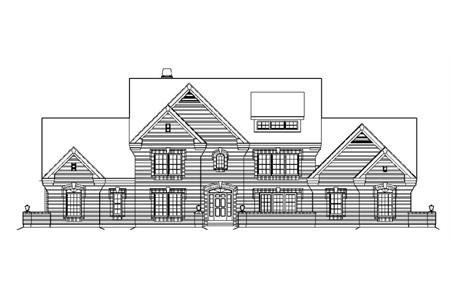 138-1183: Home Plan Front Elevation