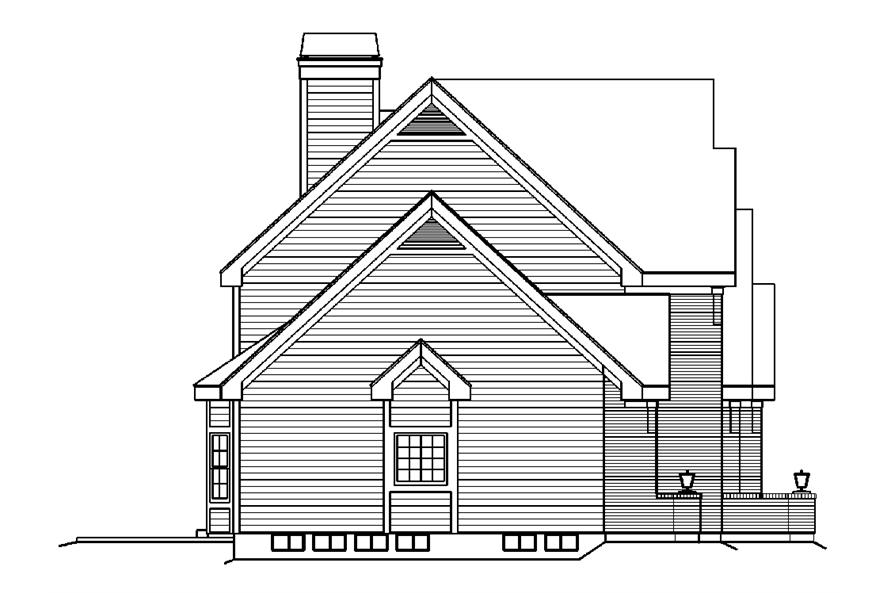 138-1183: Home Plan Left Elevation
