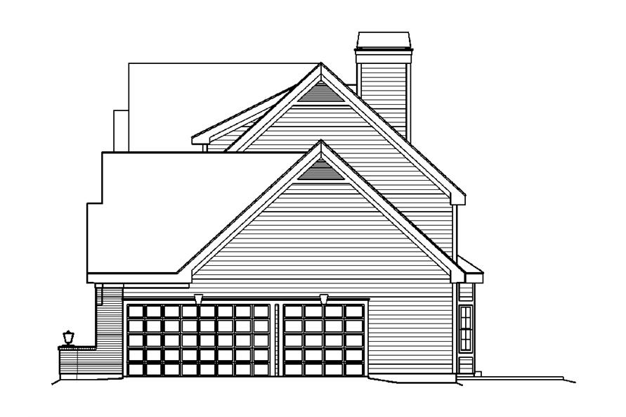 138-1183: Home Plan Right Elevation