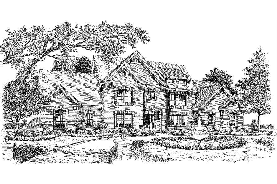 138-1183: Home Plan Rendering