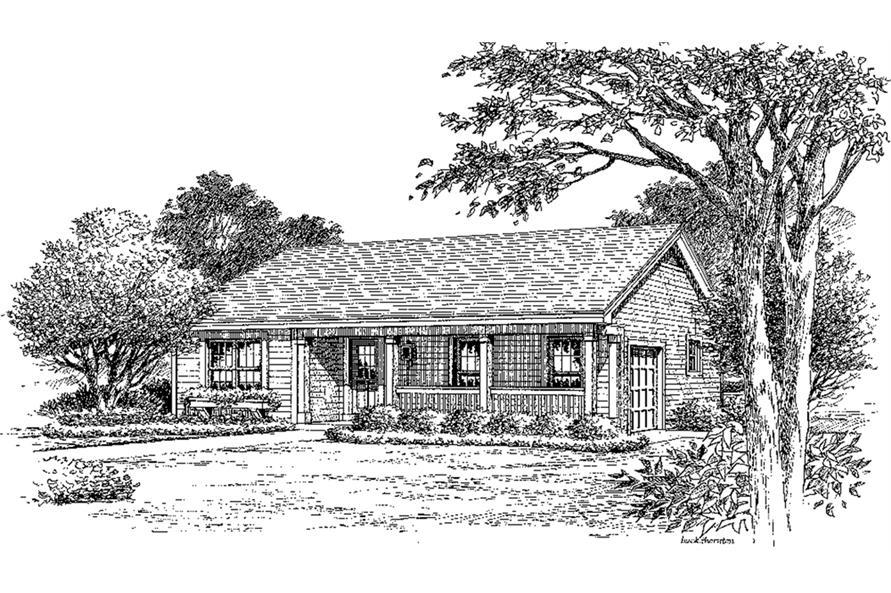 138-1185: Home Plan Rendering