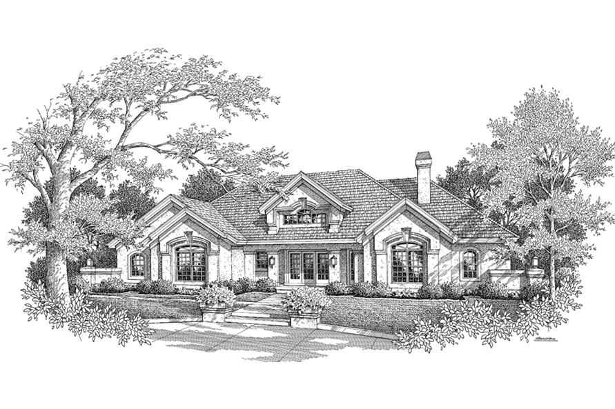 138-1186: Home Plan Rendering