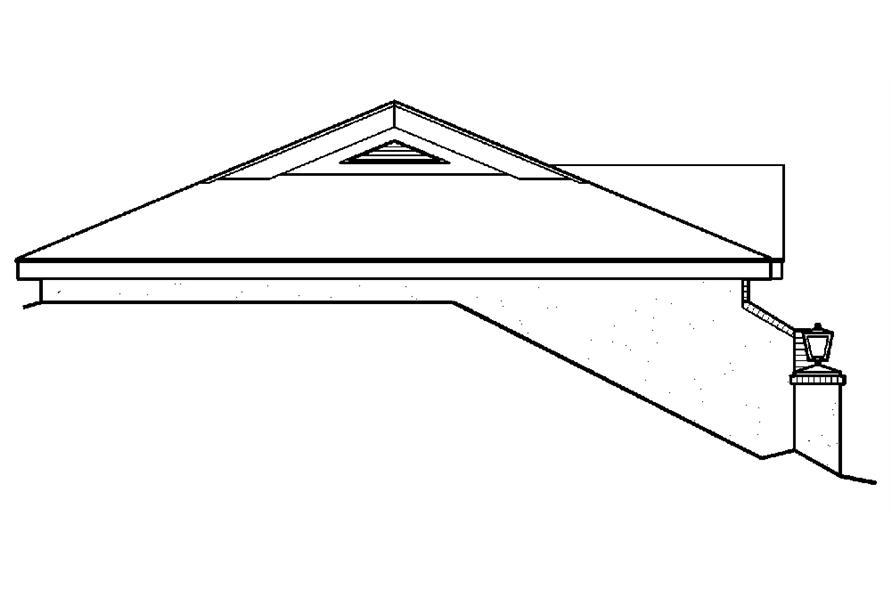 138-1187: Home Plan Left Elevation