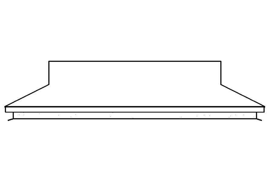 138-1187: Home Plan Rear Elevation