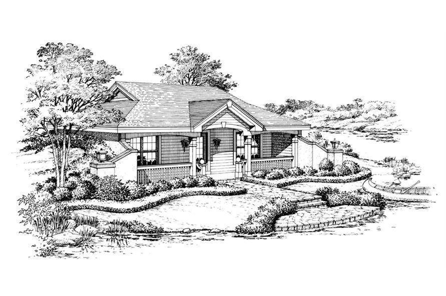 138-1187: Home Plan Rendering