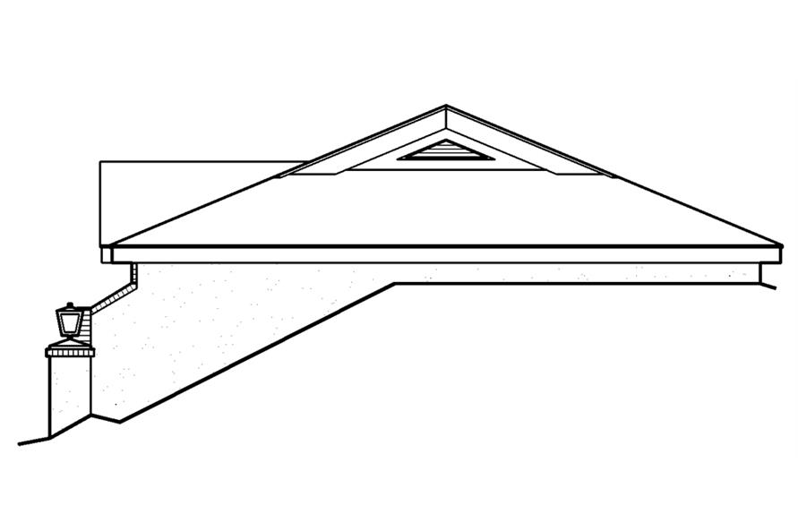 138-1187: Home Plan Right Elevation