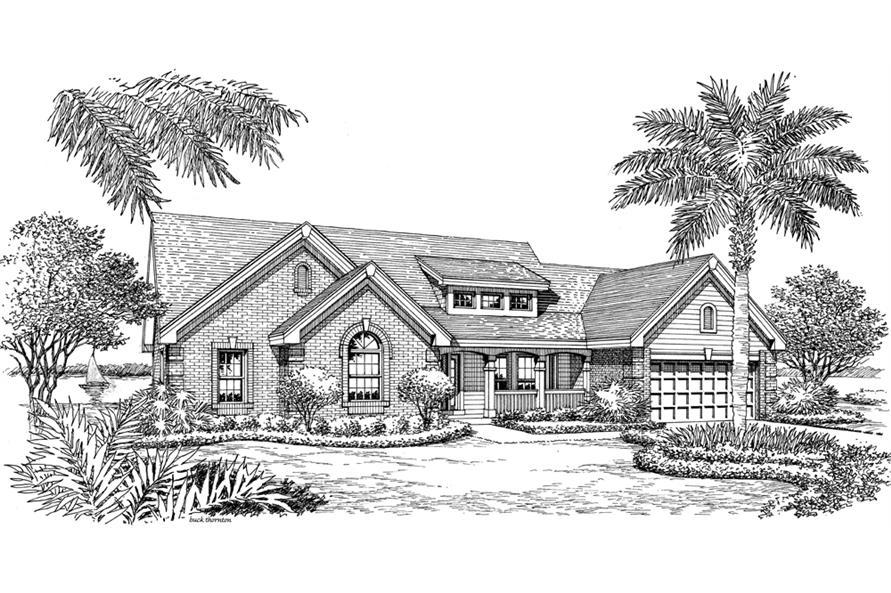 138-1188: Home Plan Rendering