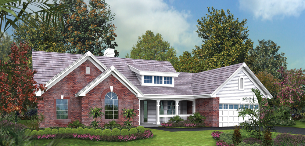 Traditional House Plan #138-1188: 4 Bedrm, 1599 Sq Ft Home