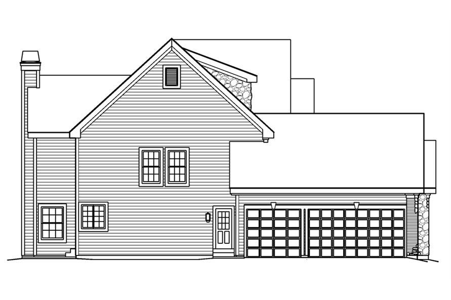 138-1189: Home Plan Left Elevation