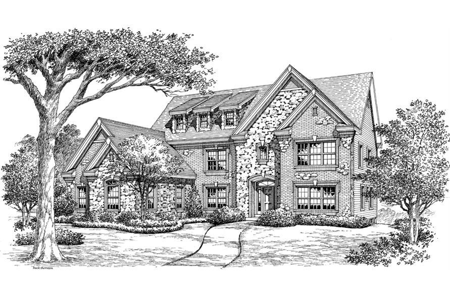 138-1189: Home Plan Rendering