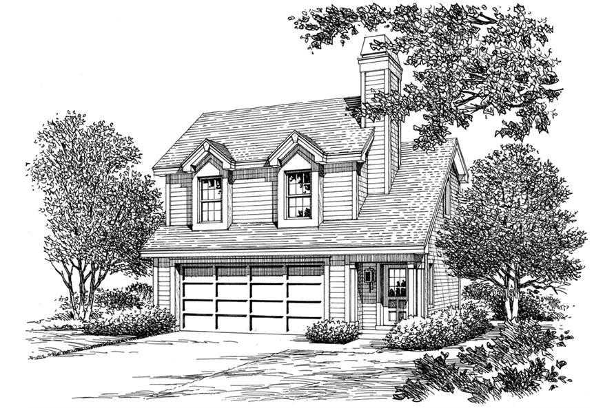 138-1190: Home Plan Rendering