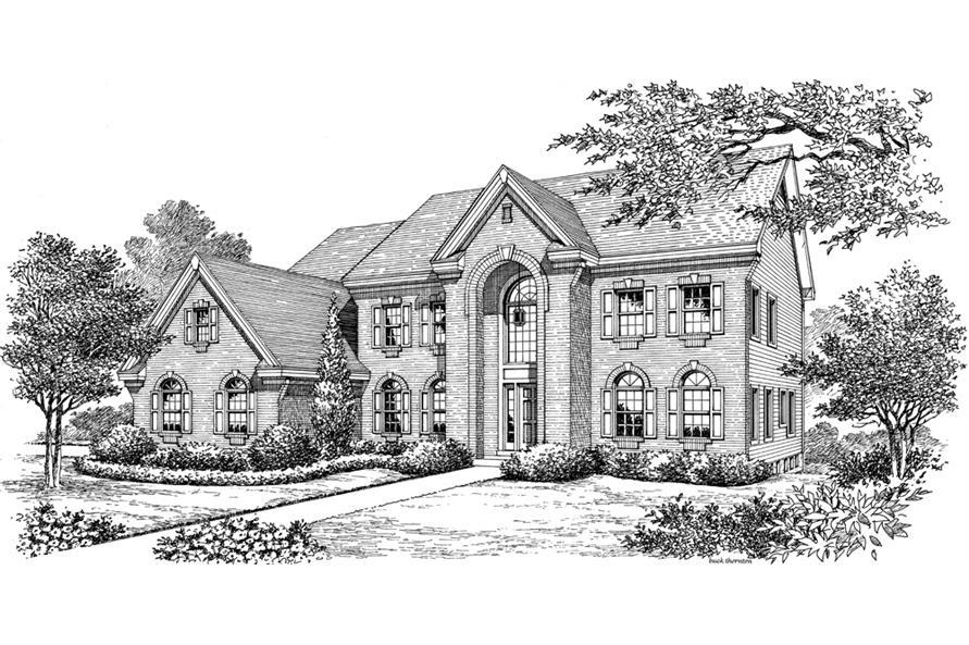 138-1191: Home Plan Rendering