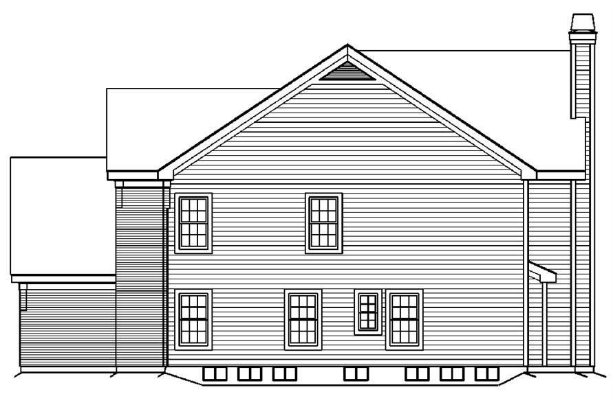 138-1191: Home Plan Right Elevation