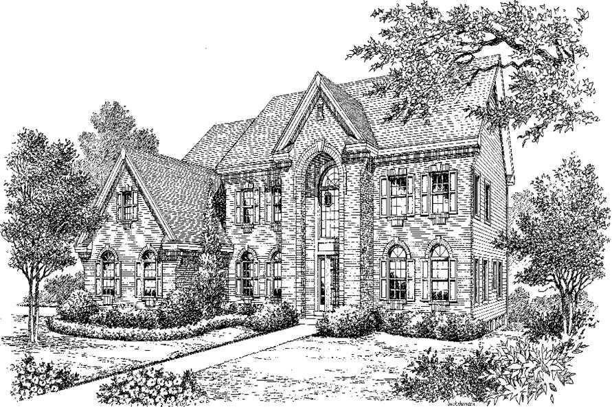 138-1192: Home Plan Rendering