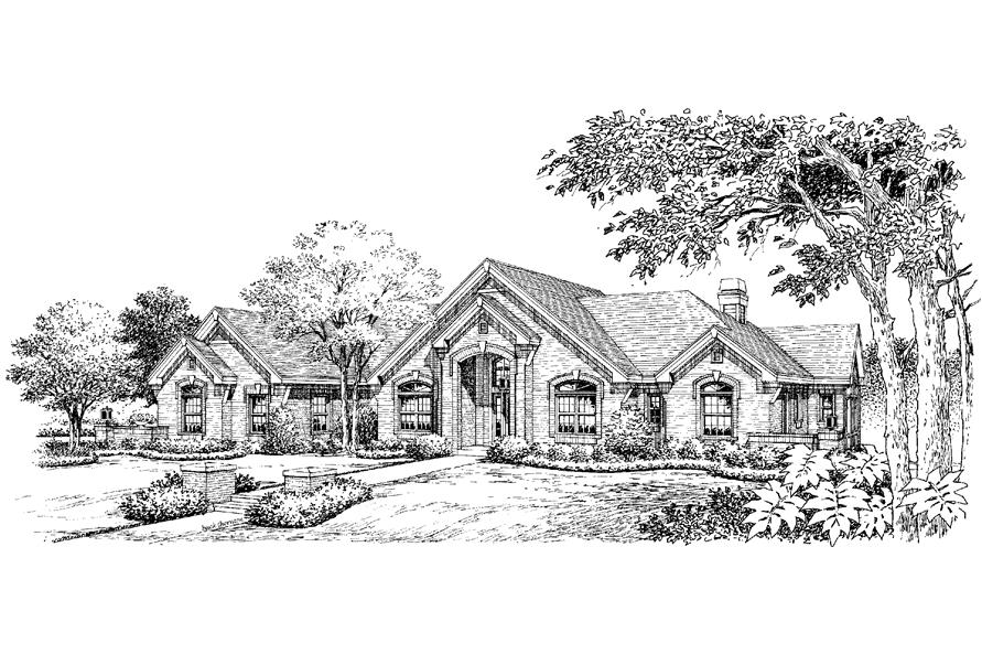 138-1195: Home Plan Rendering