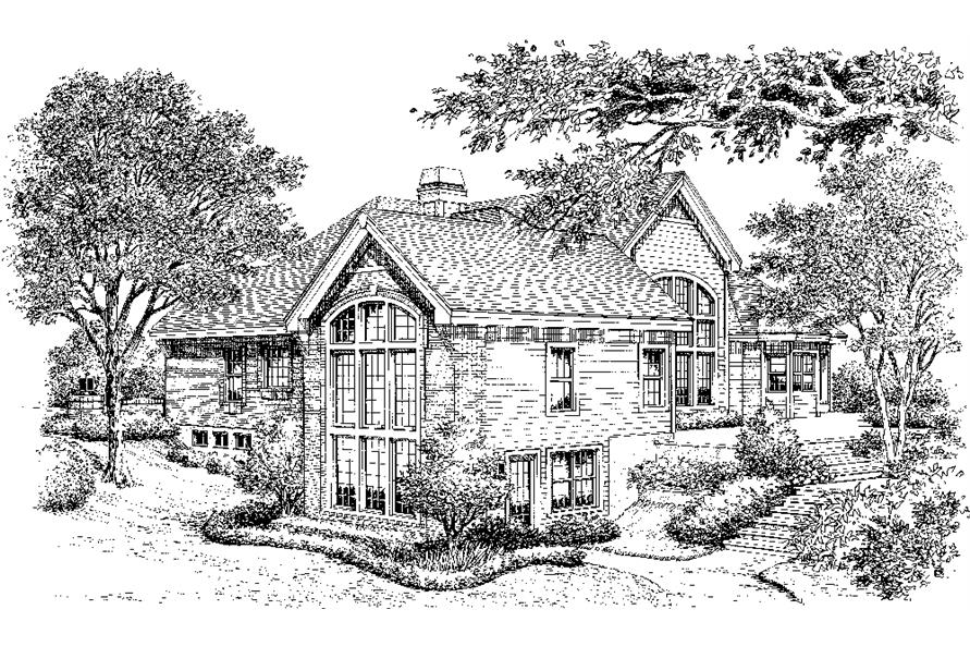 138-1195: Home Plan Rendering
