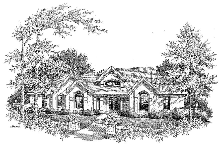138-1196: Home Plan Rendering