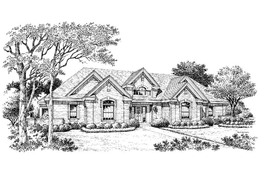 138-1197: Home Plan Rendering