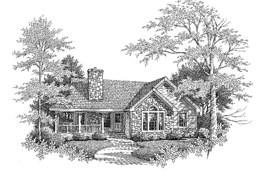 138-1198: Home Plan Rendering