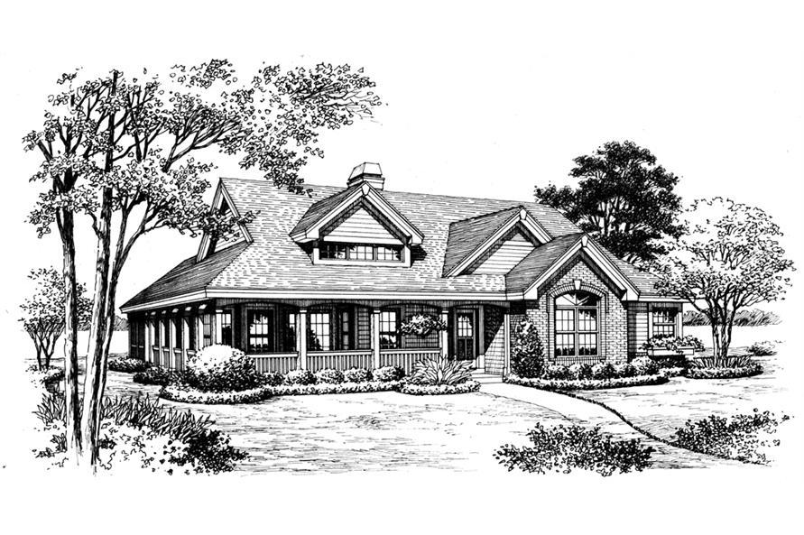 138-1199: Home Plan Rendering