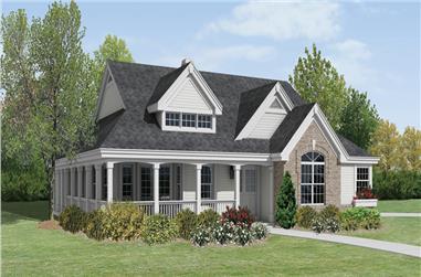 2-Bedroom, 1646 Sq Ft Ranch Home Plan - 138-1199 - Main Exterior