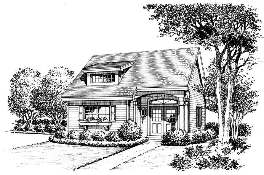 138-1201: Home Plan Rendering