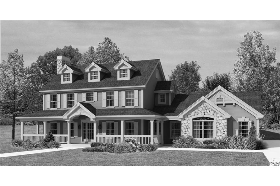 138-1204: Home Plan Rendering