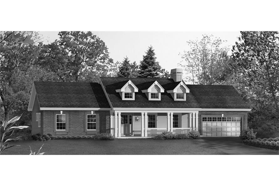 138-1207: Home Plan Rendering