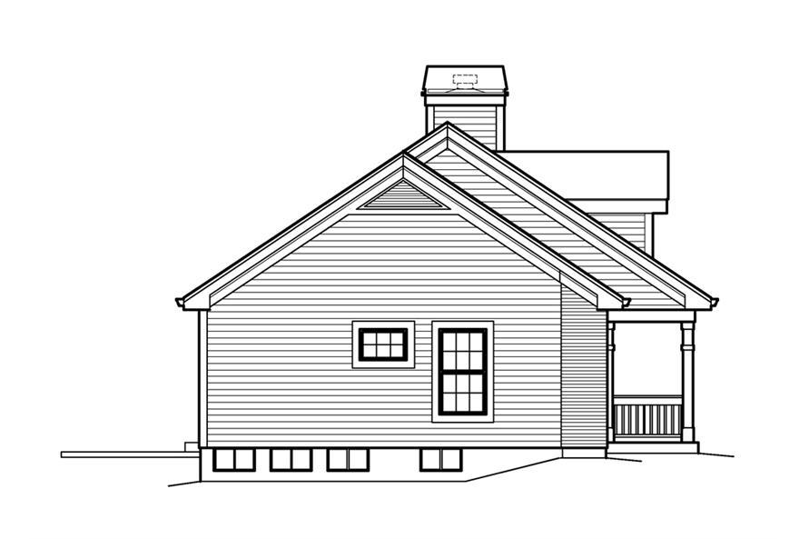 138-1207: Home Plan Left Elevation