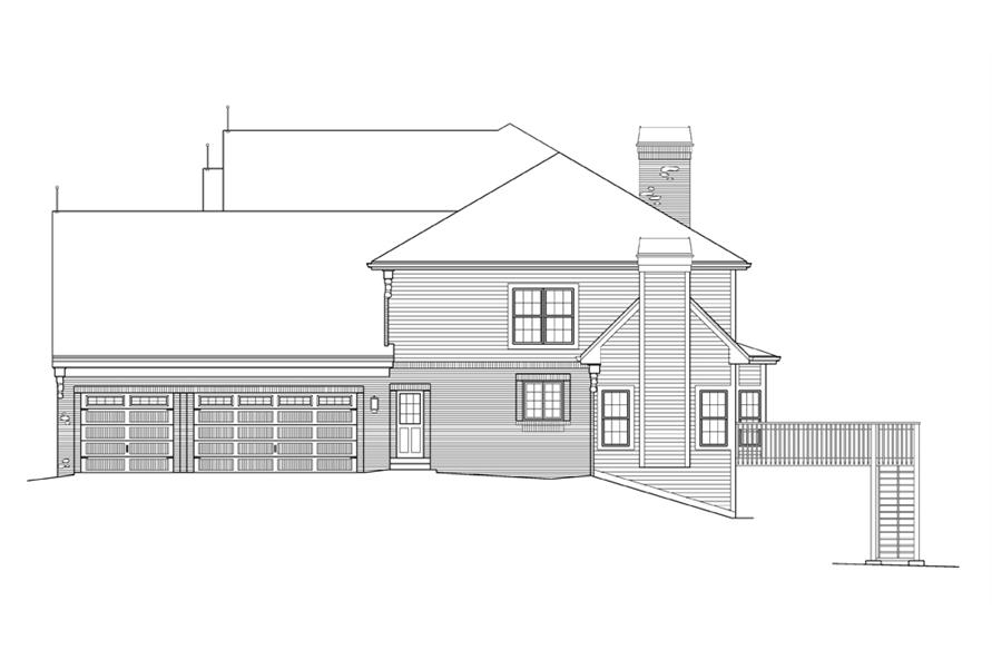 138-1216: Home Plan Right Elevation
