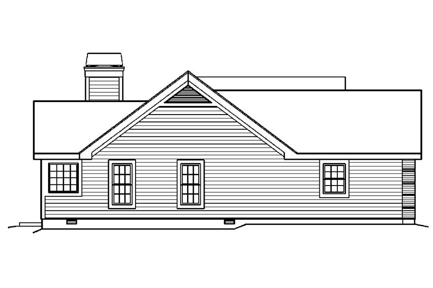 138-1217: Home Plan Left Elevation