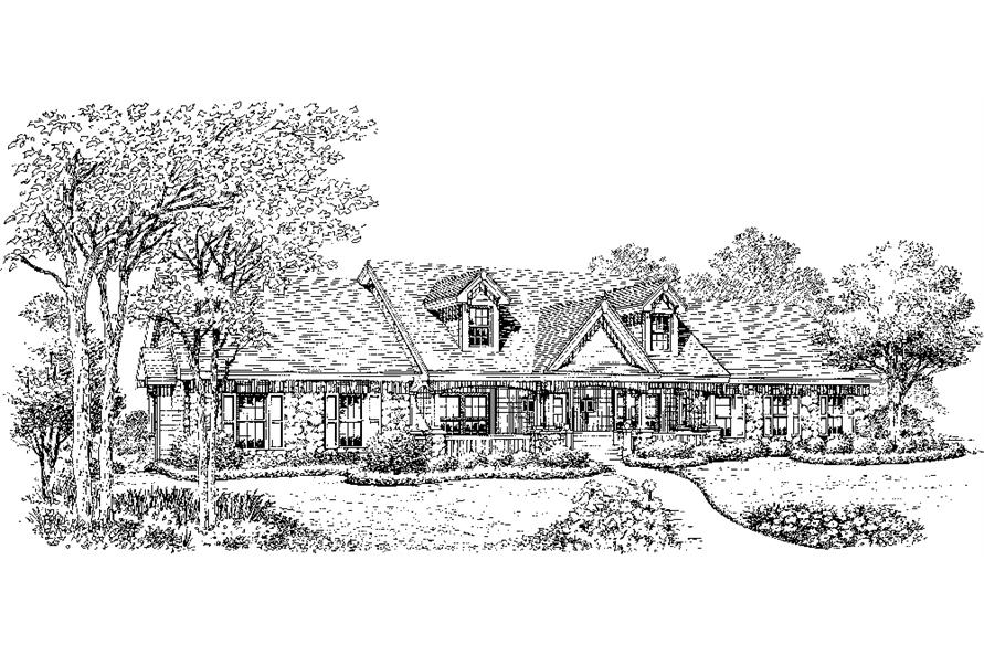 138-1219: Home Plan Rendering