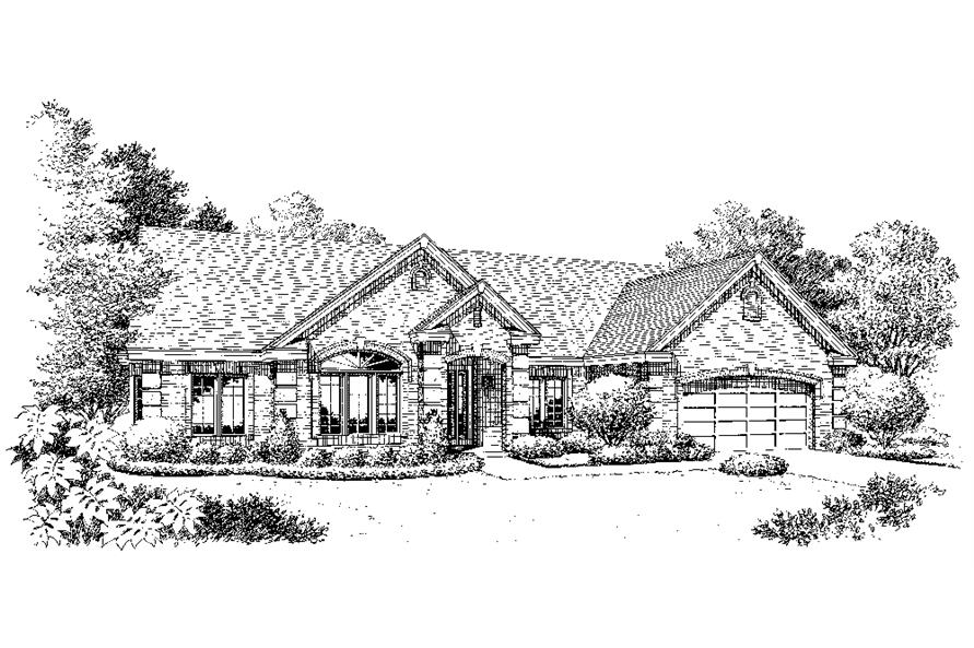 138-1220: Home Plan Rendering