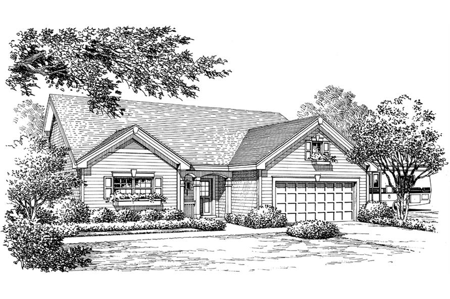 138-1222: Home Plan Rendering