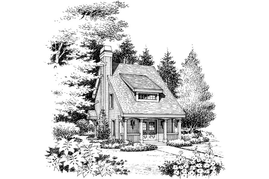 138-1224: Home Plan Rendering