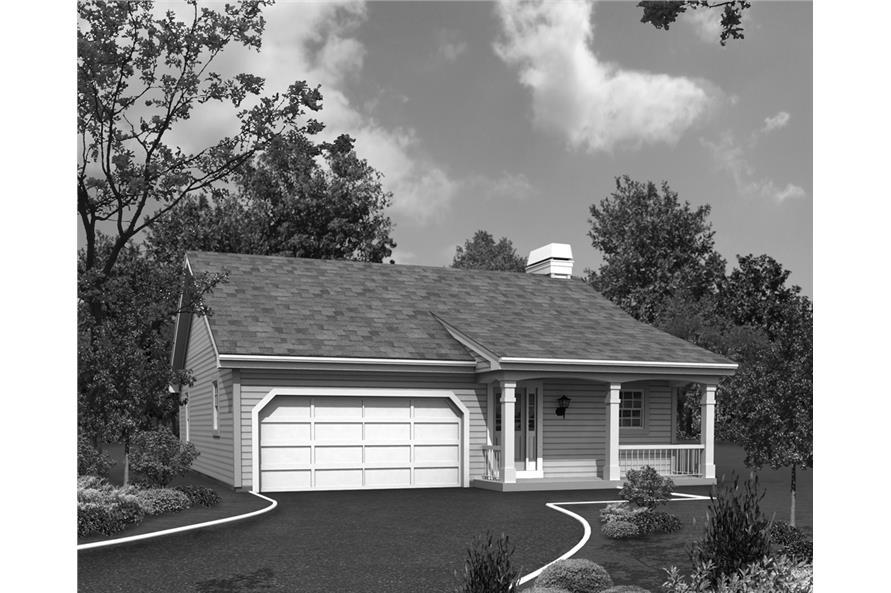 138-1225: Home Plan Rendering